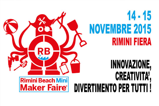 STILLAQUAE now also in Rimini. 				<br>After Rome, Torino and Trieste, Rimini is the fourth city in Italy to join the 'Maker Faire' circuit.<br>Even here STILLACQUAE has been chosen to be presented as a high quality project to help rationalize the resources of the planet.<br> 				<br> 				<br> 				<a href='http://www.makerfairerimini.it' target='_blank'>Mini Maker Faire Rimini 2015 in detail</a>